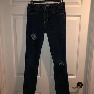 Old Navy Distressed Skinny/Adjustable 16R Girls